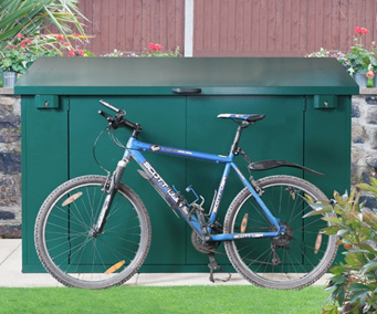 Metal Cycle Shed